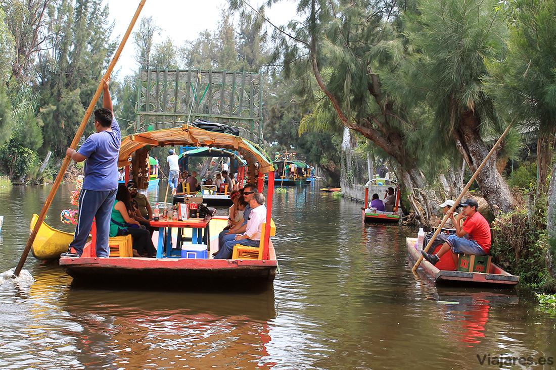 Paseo por los canales de Xochimilco