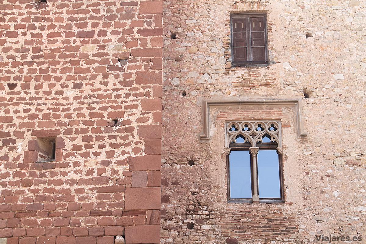 Estilos diversos conviven en los muros