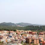 Paisaje que rodea el Castillo de Castelldefels