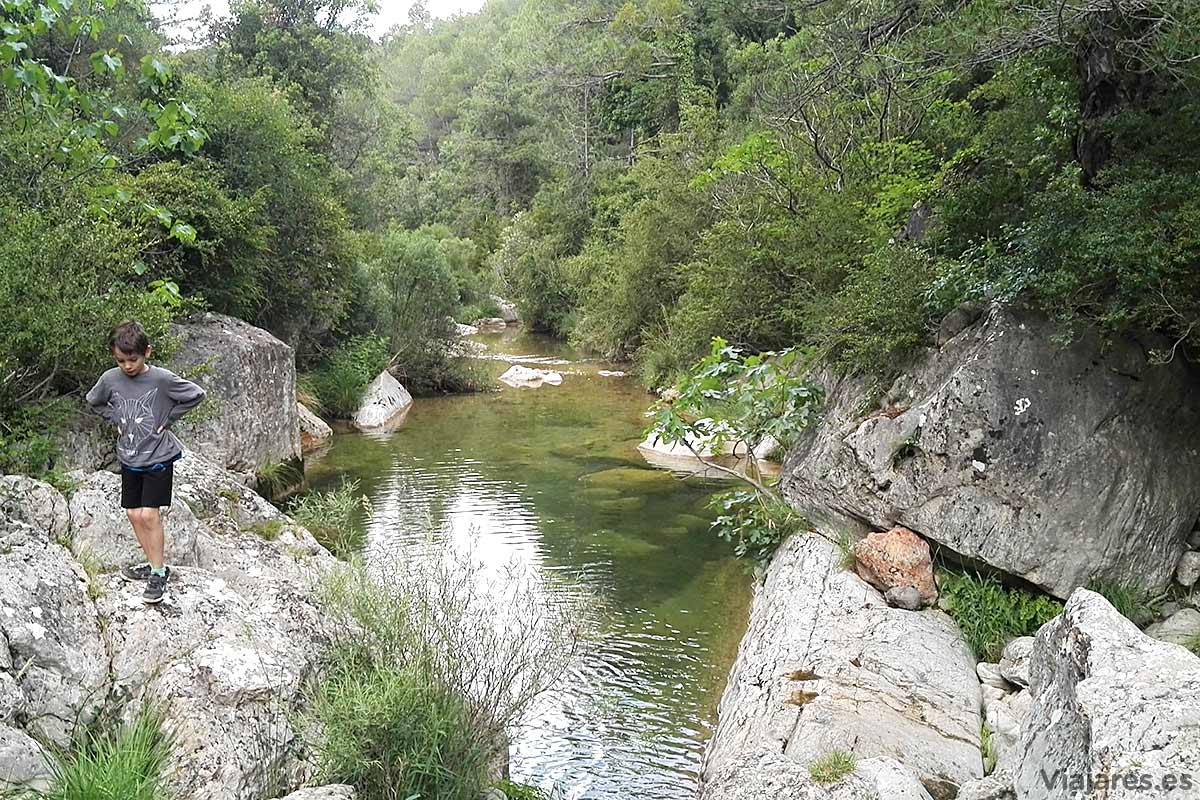 Pozas del río Els Estrets