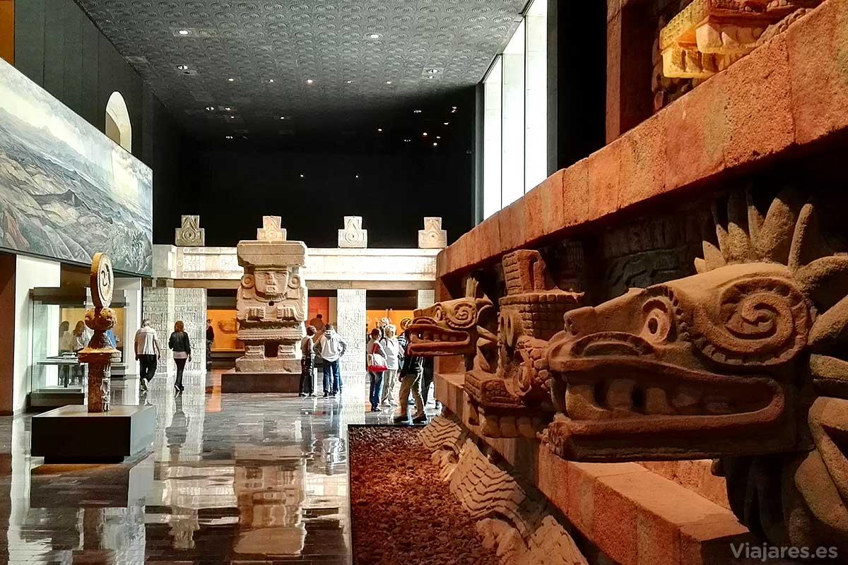 Sala Teotihuacana del MNA de México