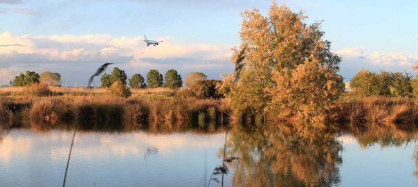 Atardecer en el Delta del Llobregat