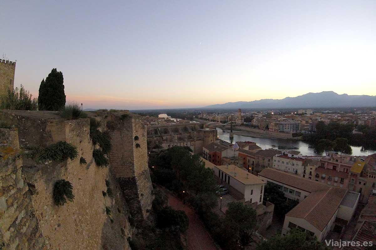 Panorama desde el Castillo de la Zuda