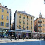 Ambiente en las calles de Niza, Francia