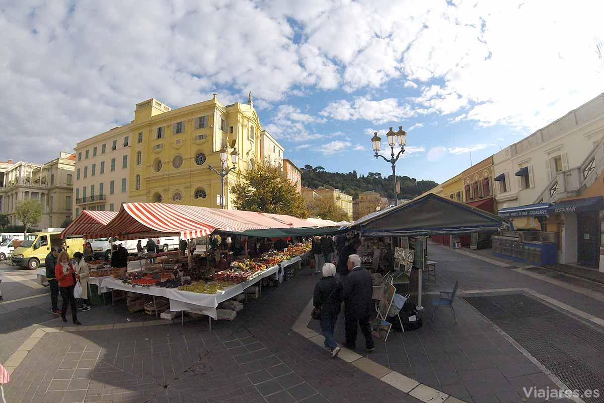 Mercados de las Flores, Niza