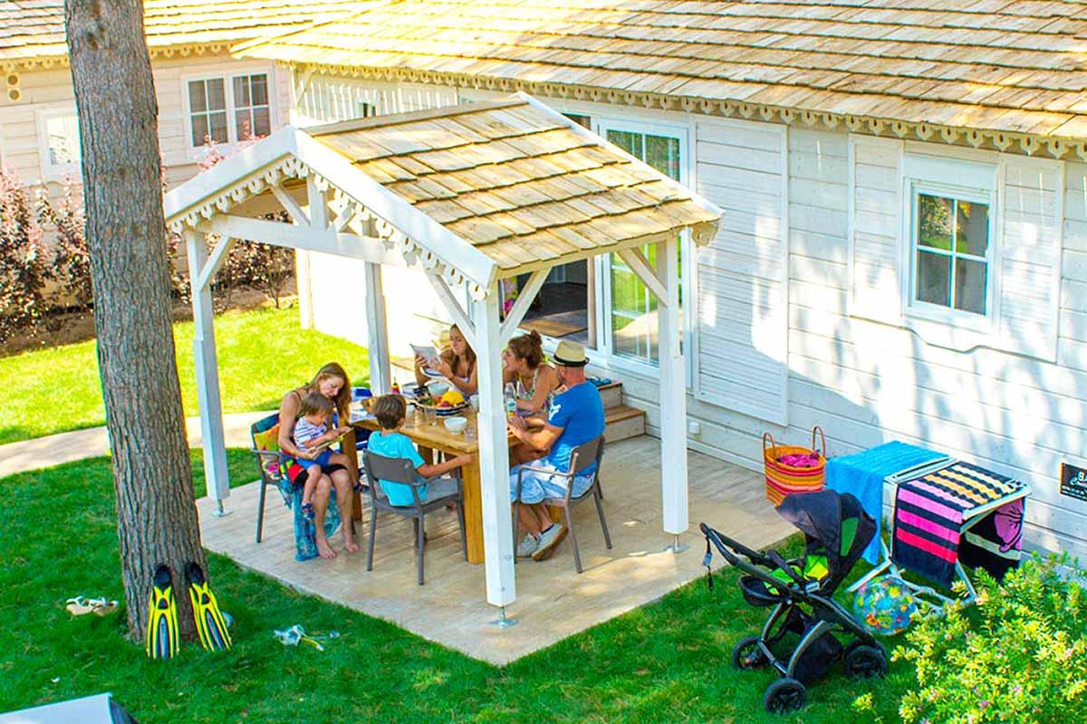Glamping y vacaciones familiares