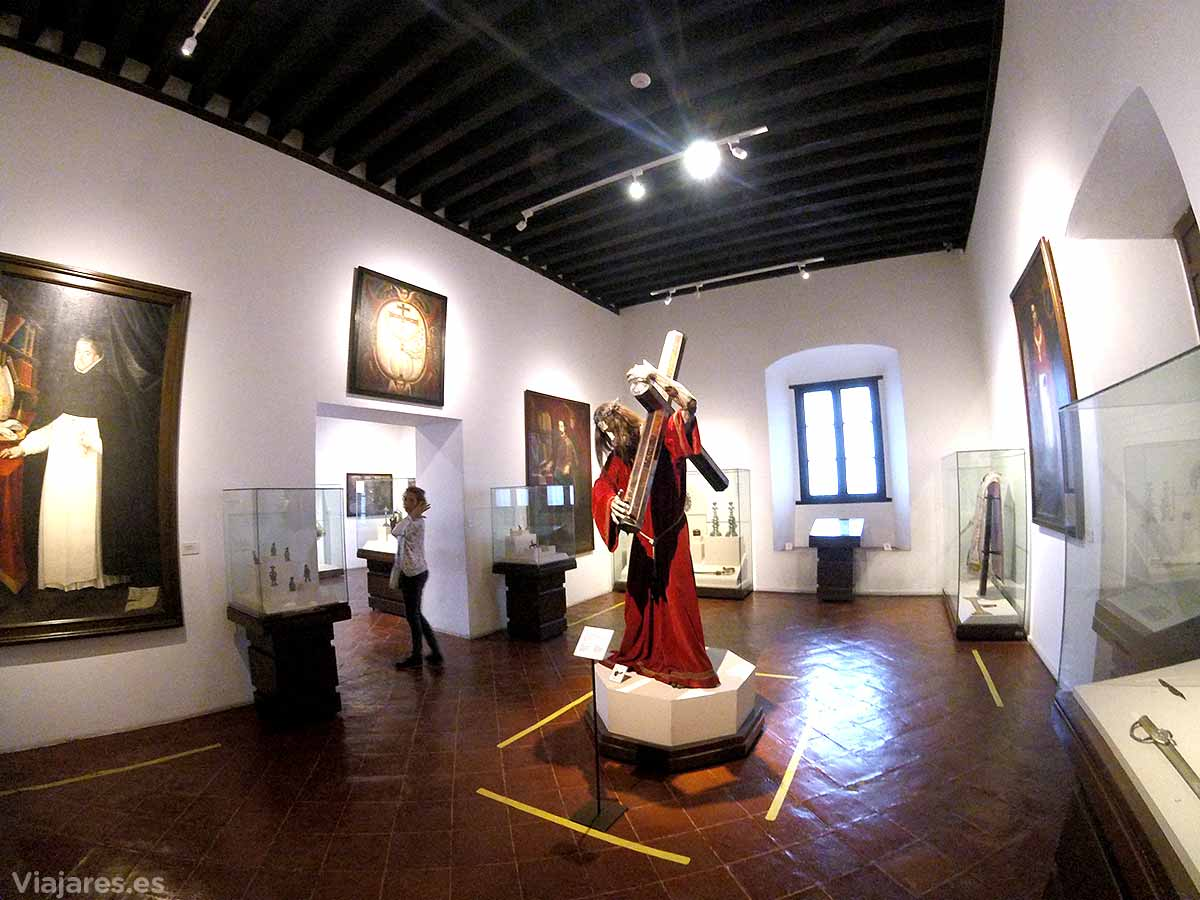 Sala del Museo Nacional del Virreinato de Teopotzolán