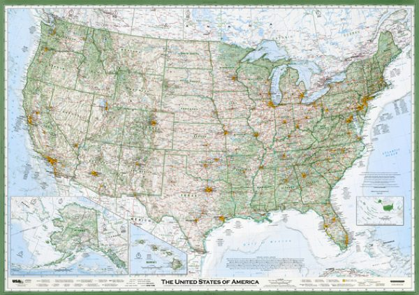 The Essential Geography of the United States of America - David Imus