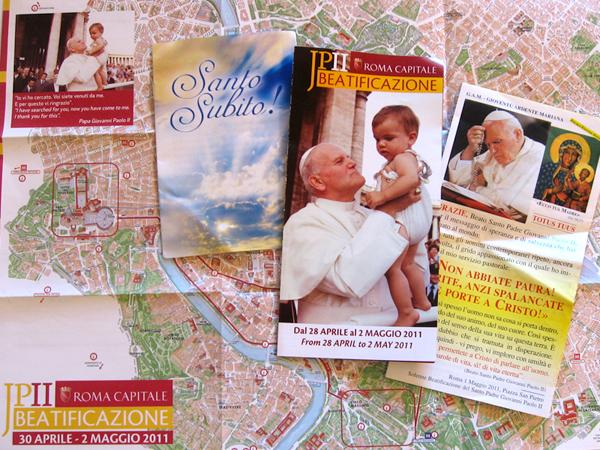 Roma beatificacion Juan Pablo II