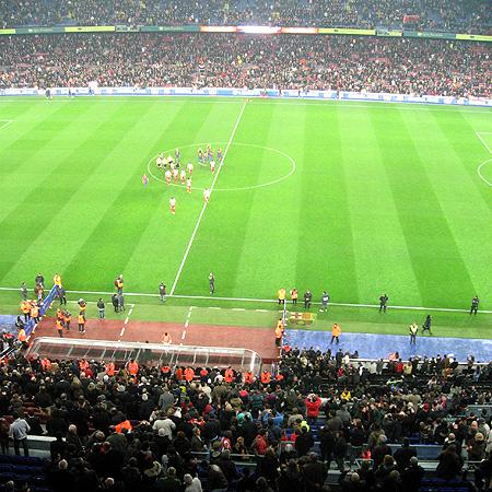 Partido fútbol Camp Nou