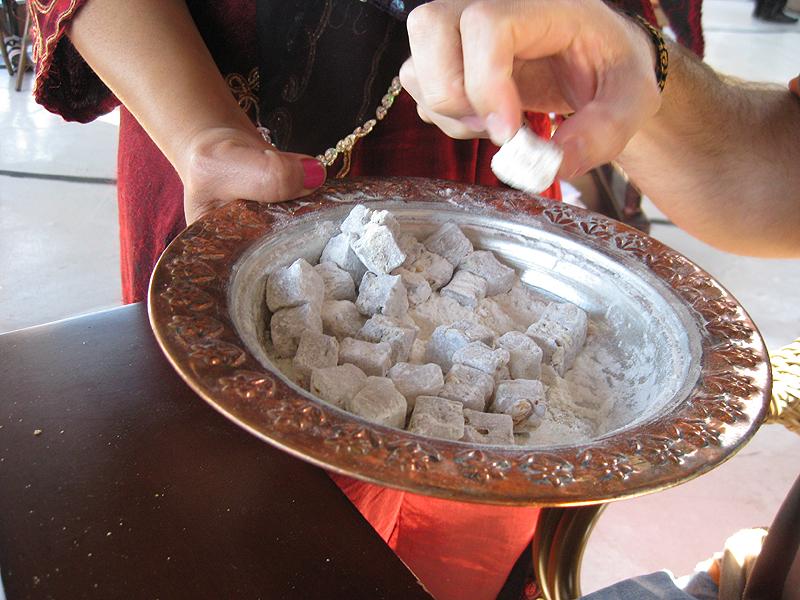 Dulces típicos turcos