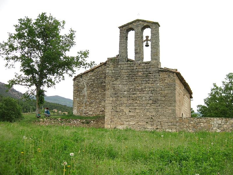 Visita a la iglesia románica de Sant Martí de Guixers