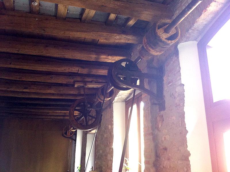 Más testigos del antiguo trabajo del molino