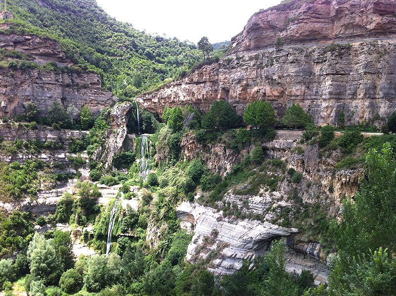 Cascada del río Tenes