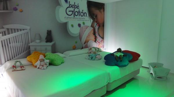 Hotel del Juguete - Habitación bebé Glotón