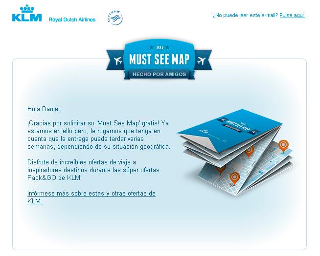 Must see Map de KLM