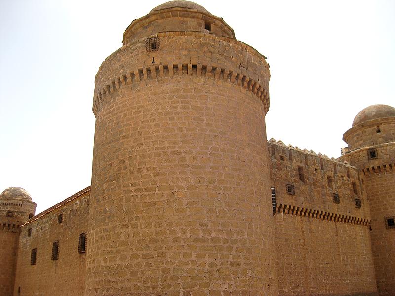 Conjunto exterior del castillo