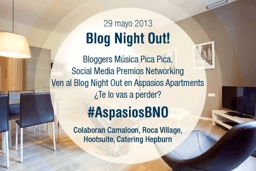 Blog Night Out de Aspasios