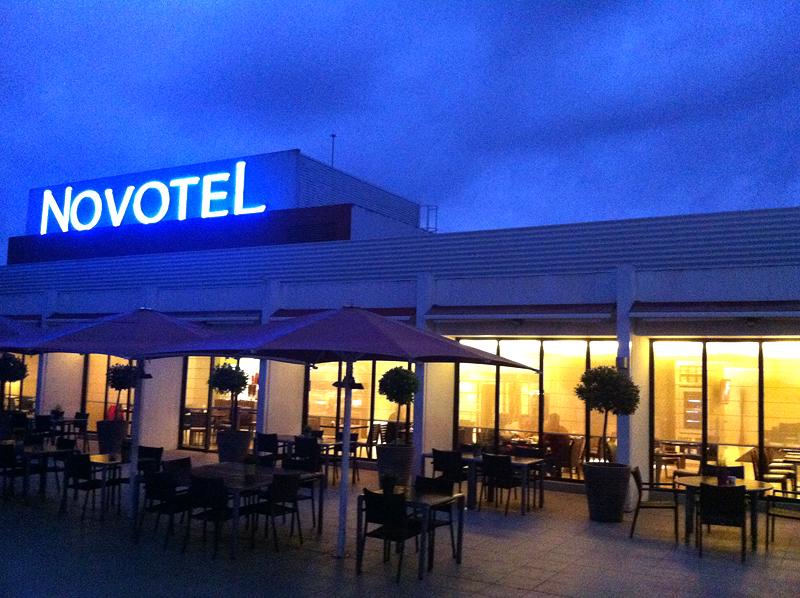 Atardecer en Hotel Novotel Girona